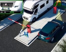 instalacion control de acceso vehiculos madrid
