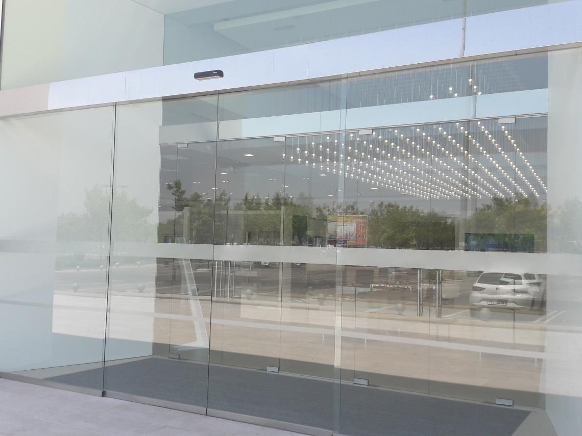 puertas automaticas correderas cristal madrid