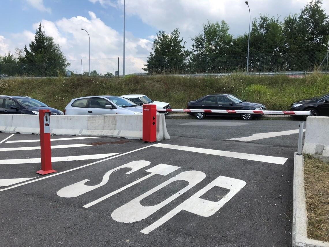 barrera automatica para acceso vehicular precio