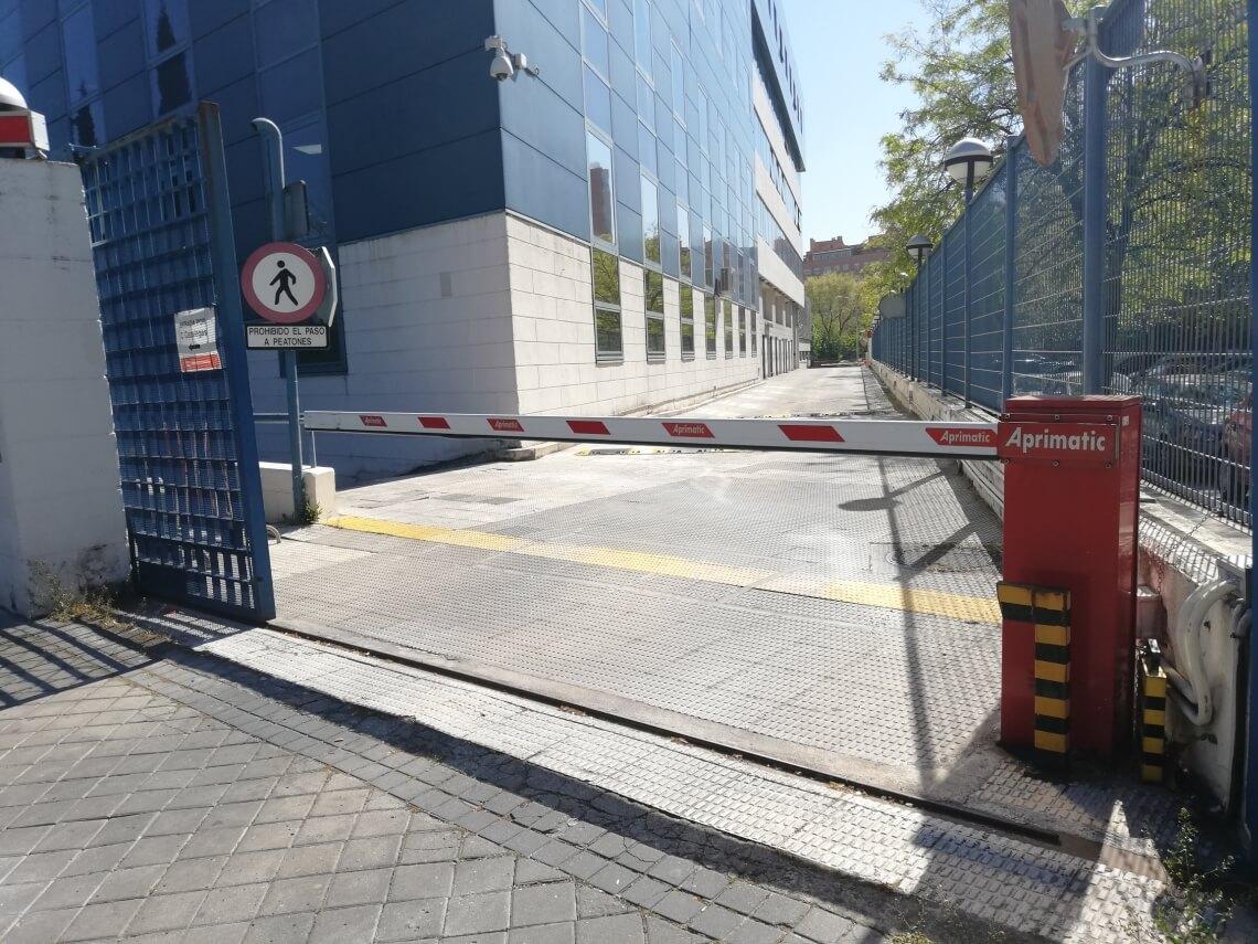 barreras de vehiculos madrid instalacion mantenimiento