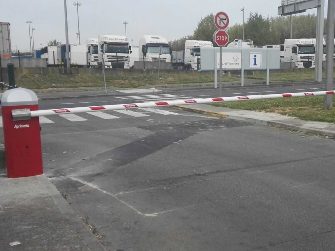 barreras vehiculos aeropuerto
