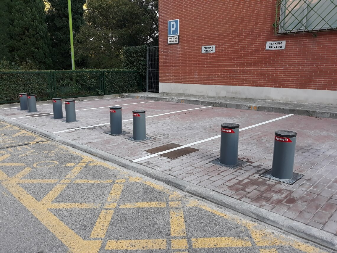 pilonas parking madrid precio