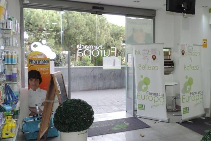 puertas automaticas para farmacia