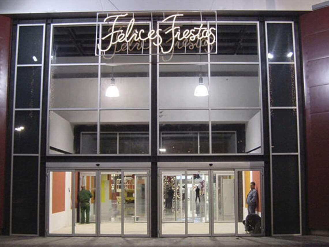 puertas centros comerciales madrid