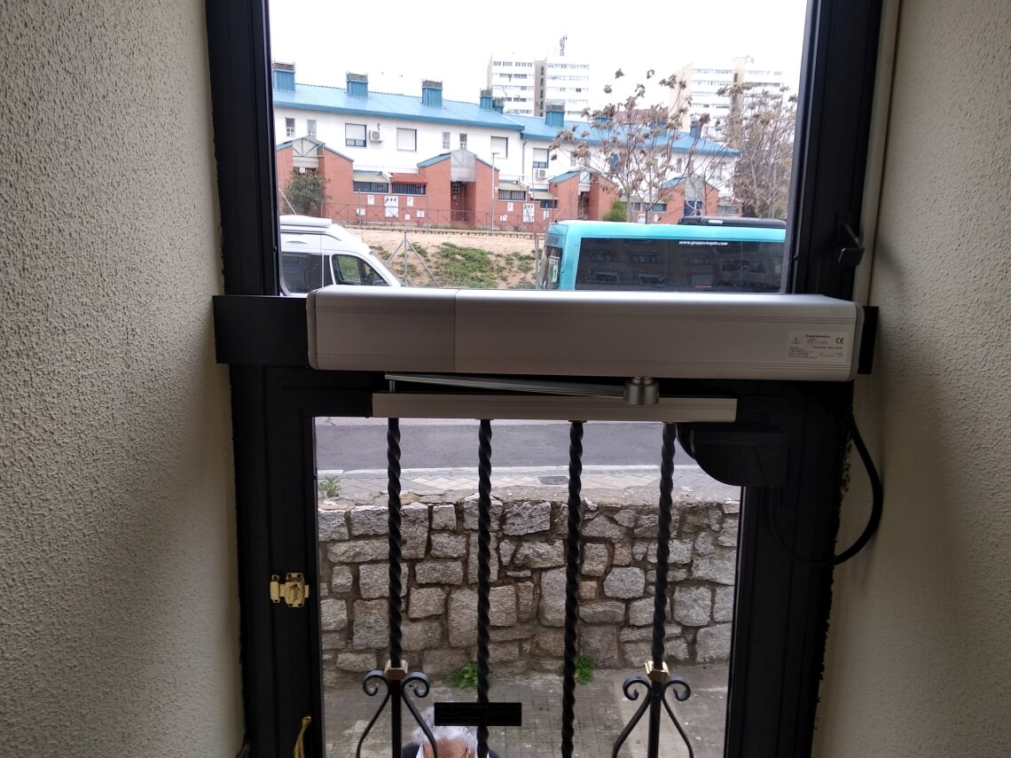 accesibilidad puertas madrid
