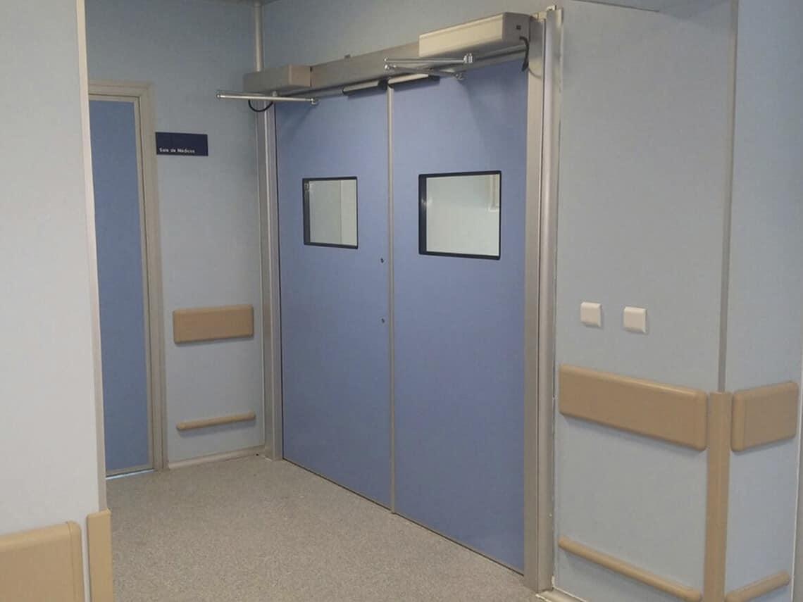 instalacion de puertas automaticas para hospitales