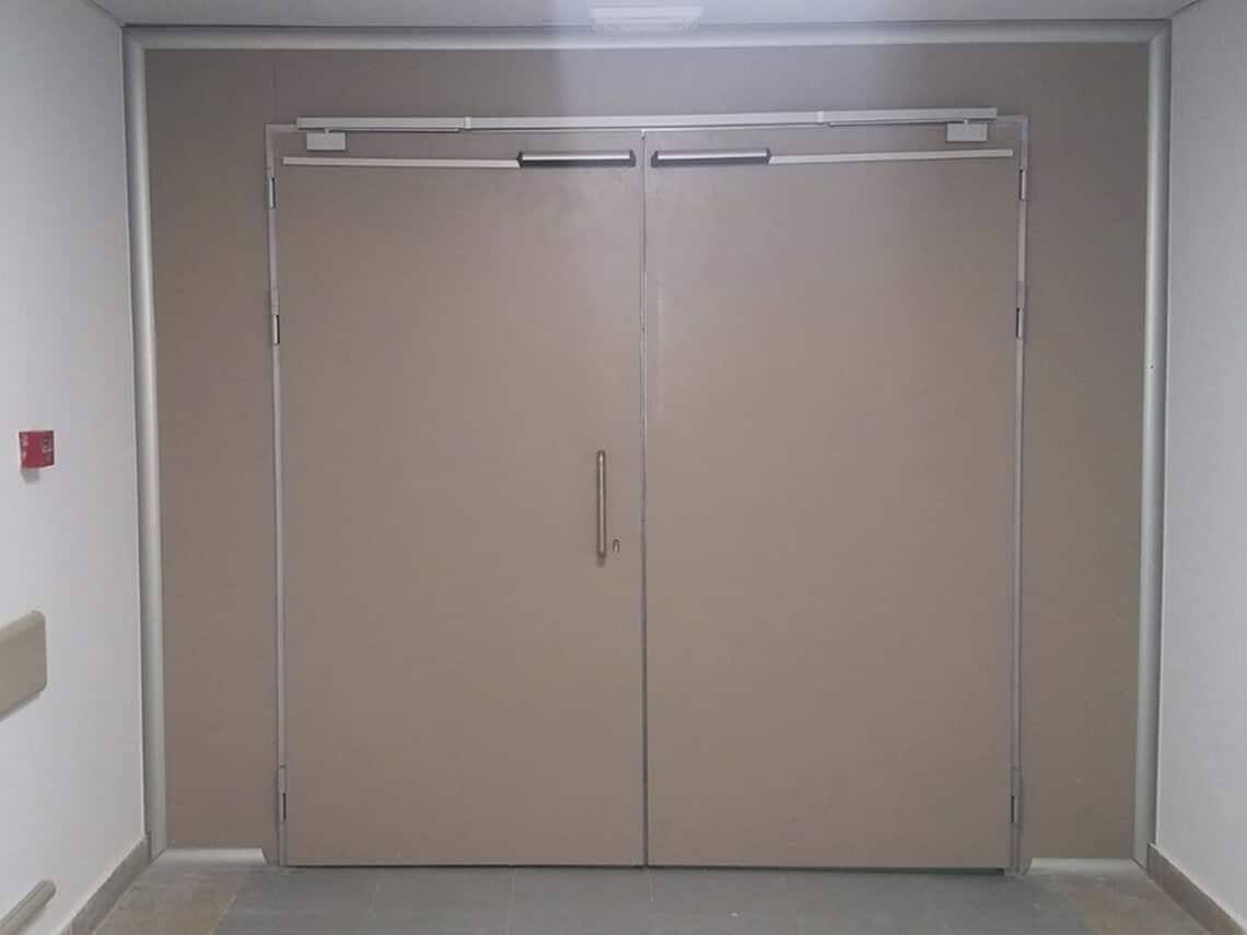 precio de instalacion puertas hospitales
