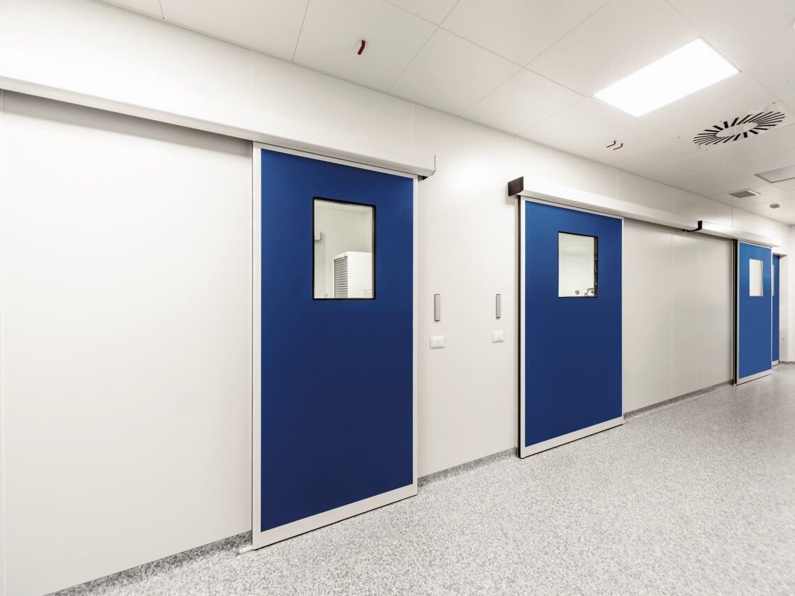 puertas automaticas hospitales