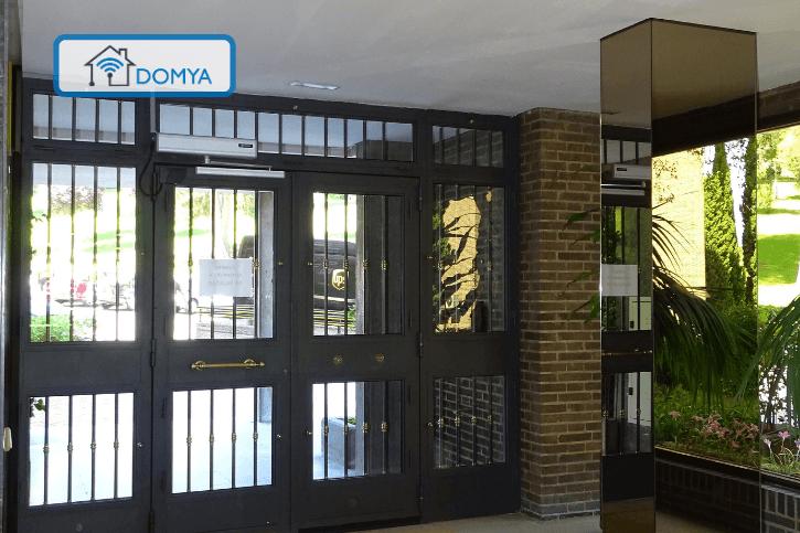 automatizacion de puertas de portal