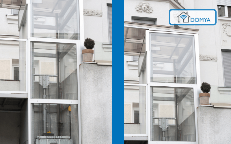 instalacion ascensores exteriores madrid