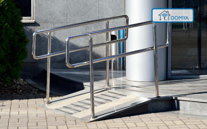 instalacion rampas de acceso accesibilidad