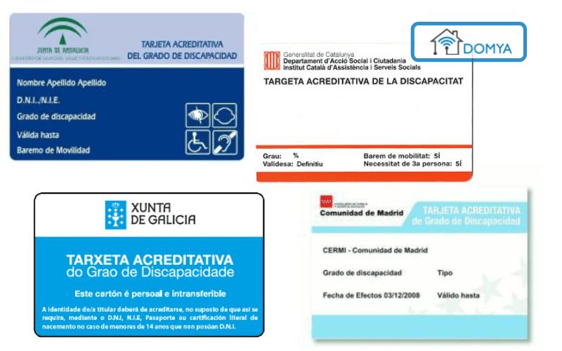 que es el certificado de discapacidad comunidades autonomas