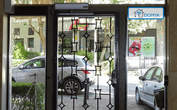 automatizacion puertas portal